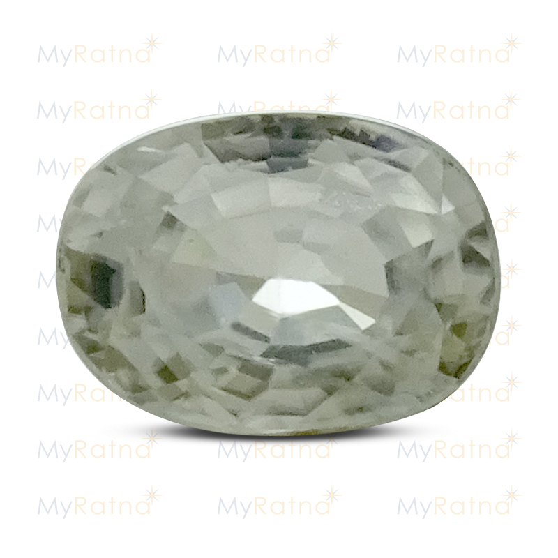 Certified Natural White Zircon 3.91 Ct (Ceylon) - Limited - MyRatna