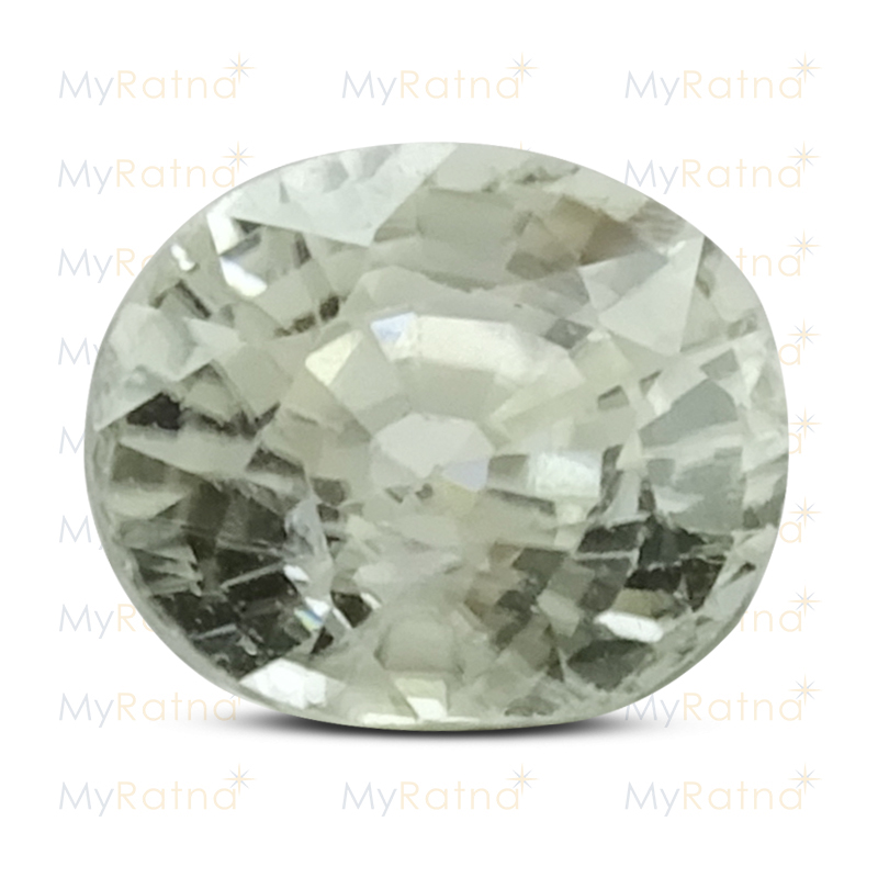 Certified Natural White Zircon 3.55 Ct (Ceylon) - Limited - MyRatna
