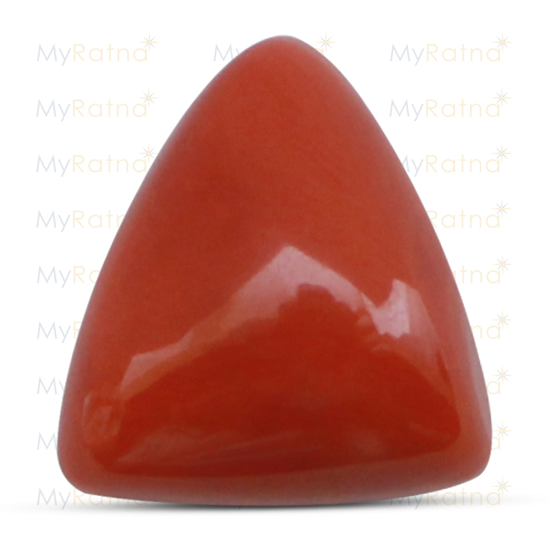 Certified Natural Red Coral 18.99 Ct (Italy) - Limited - MyRatna