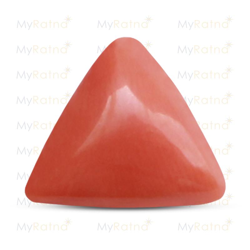Certified Natural Red Coral 16.91 Ct (Italy) - Limited - MyRatna