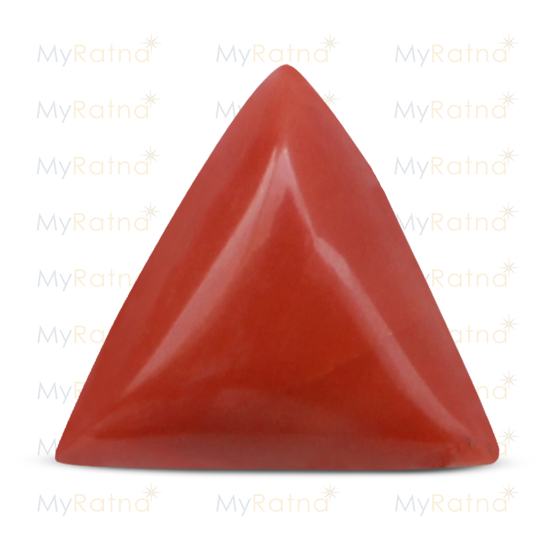 Certified Natural Red Coral 8.73 Ct (Italy) - Limited - MyRatna