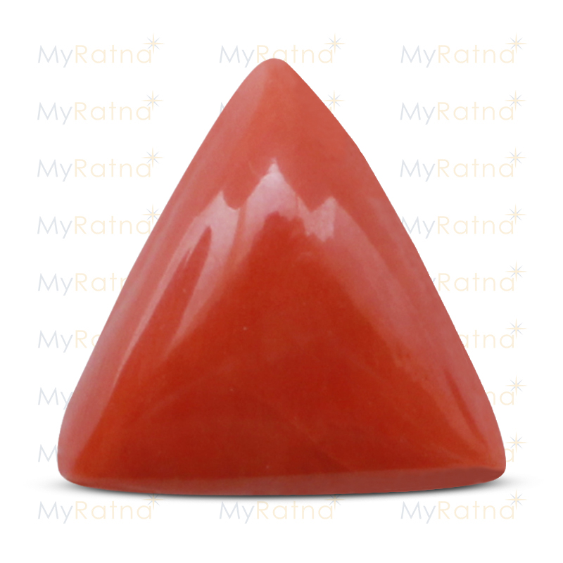 Certified Natural Red Coral 8.51 Ct (Italy) - Prime - MyRatna