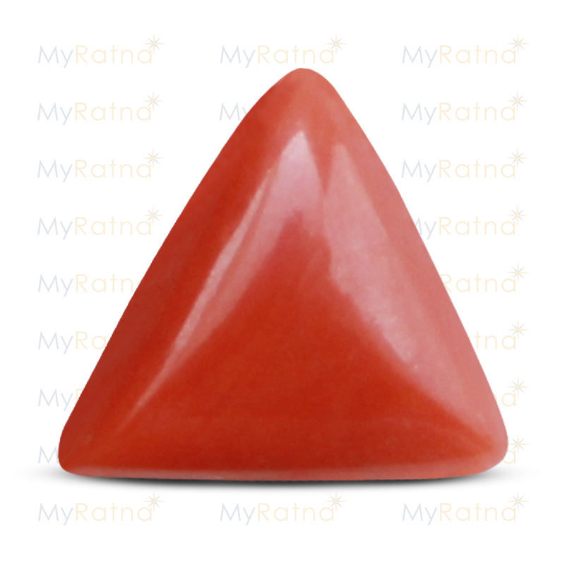 Certified Natural Red Coral 6.47 Ct (Italy) - Prime - MyRatna