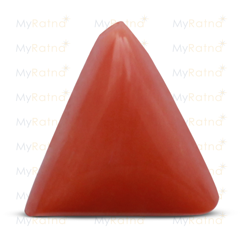 Certified Natural Red Coral 6.63 Ct (Italy) - Prime - MyRatna
