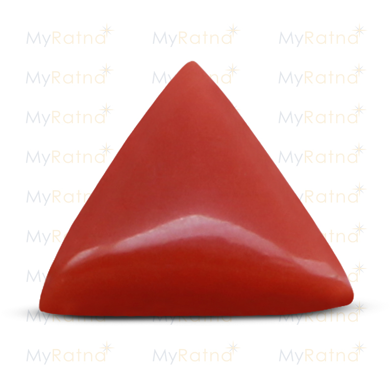 Certified Natural Red Coral 4.84 Ct (Italy) - Prime - MyRatna