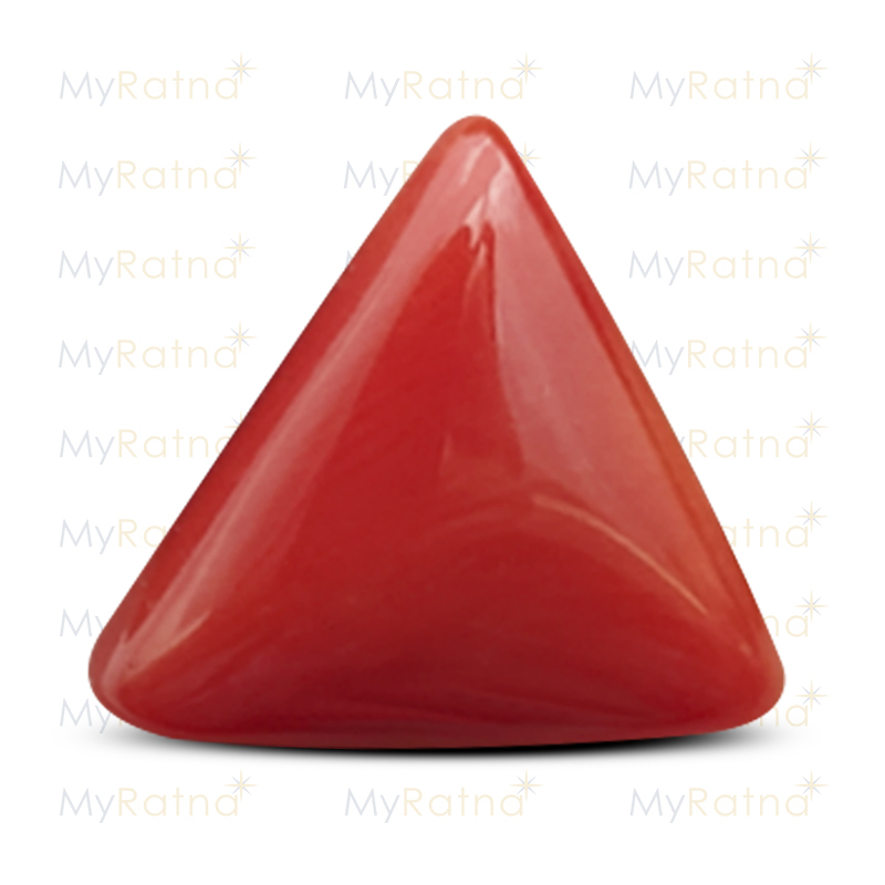 Certified Natural Red Coral 4.92 Ct (Italy) - Prime - MyRatna