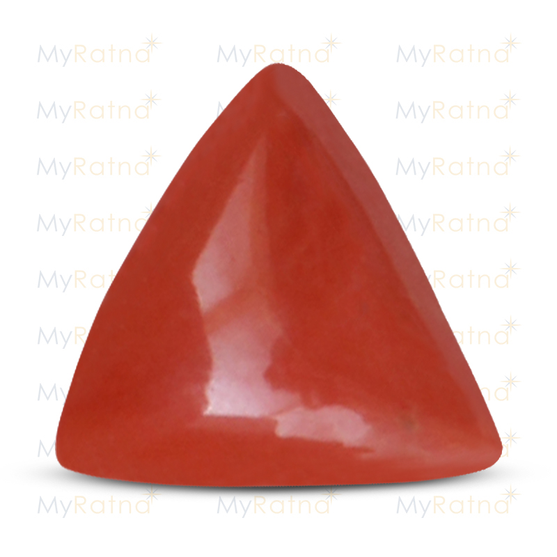 Certified Natural Red Coral 4.83 Ct (Italy) - Fine - MyRatna