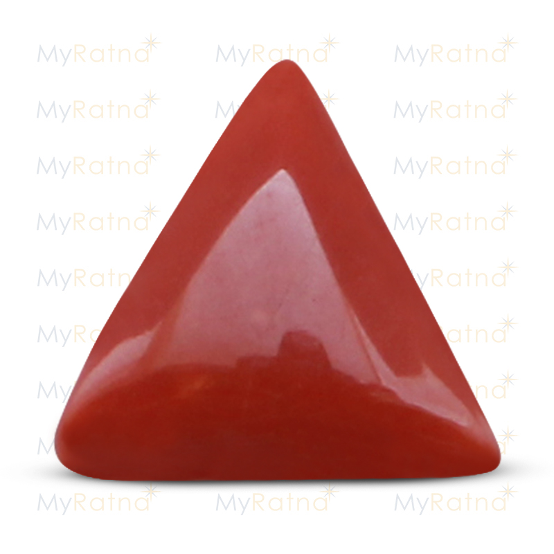 Certified Natural Red Coral 4.6 Ct (Italy) - Fine - MyRatna
