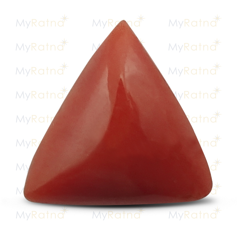 Certified Natural Red Coral 3.28 Ct (Italy) - Limited - MyRatna