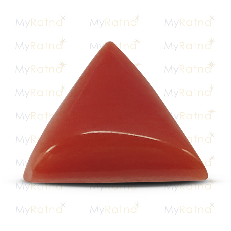 Certified Natural Red Coral 3.67 Ct (Italy) - Prime - MyRatna
