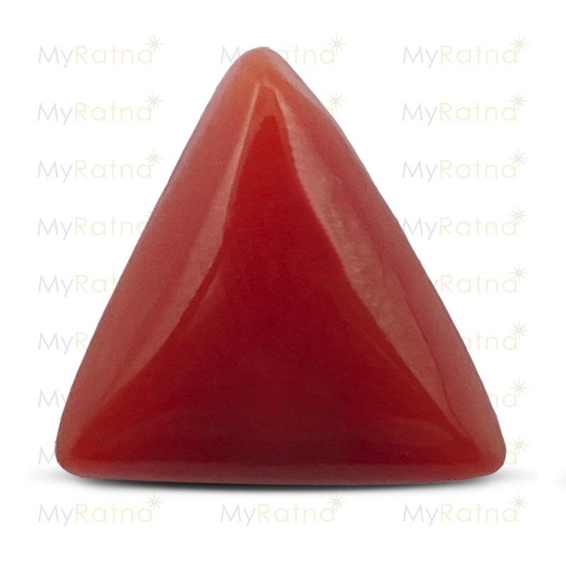 Certified Natural Red Coral 4.71 Ct (Italy) - Prime - MyRatna