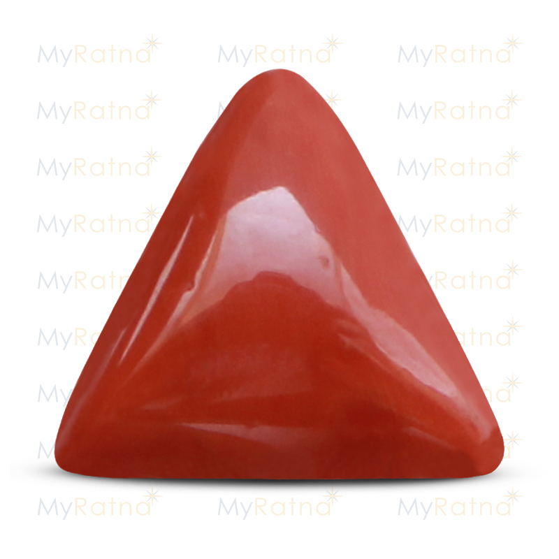 Certified Natural Red Coral 15.6 Ct (Italy) - Limited - MyRatna