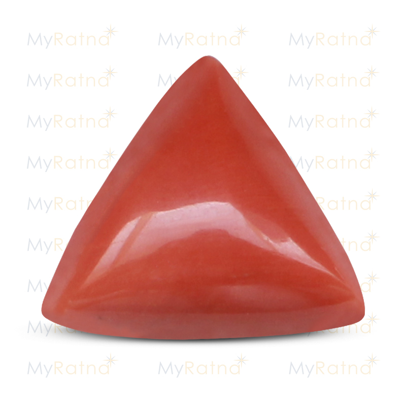 Certified Natural Red Coral 13 Ct (Italy) - Limited - MyRatna