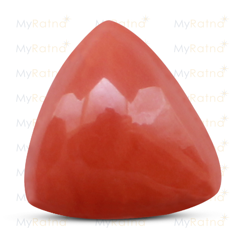 Certified Natural Red Coral 12.16 Ct (Italy) - Limited - MyRatna