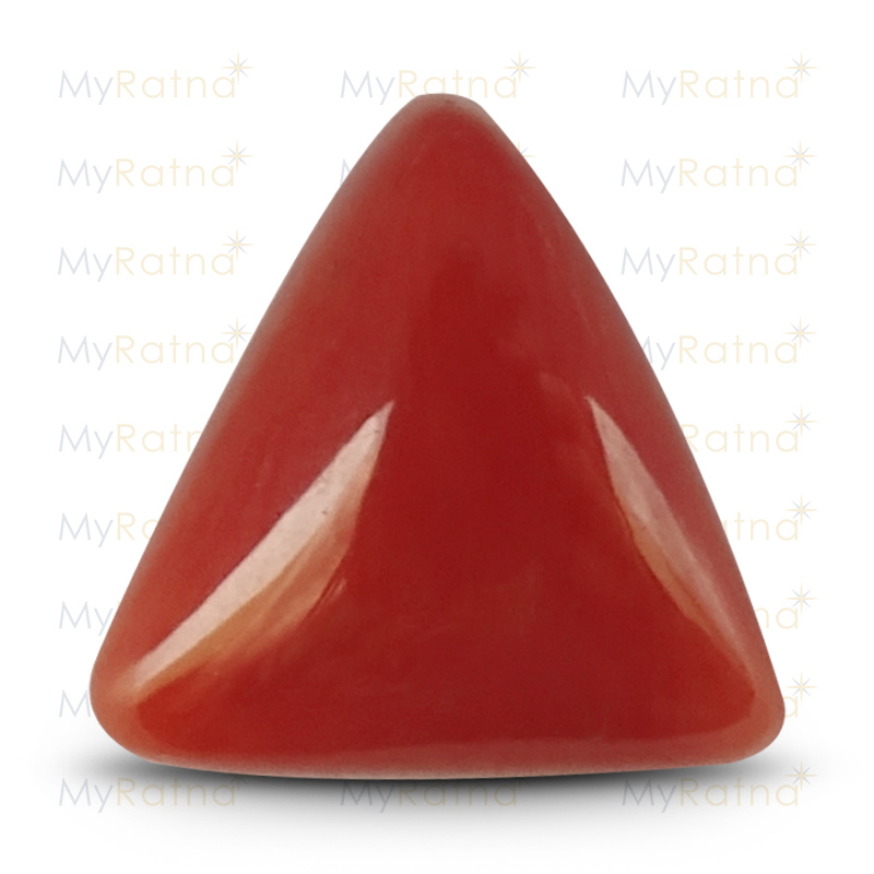 Certified Natural Red Coral 3.71 Ct (Italy) - Limited - MyRatna
