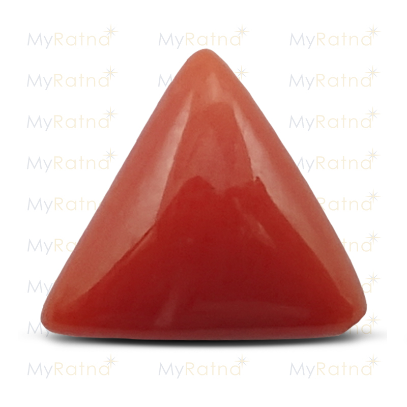 Certified Natural Red Coral 2.6 Ct (Italy) - Limited - MyRatna