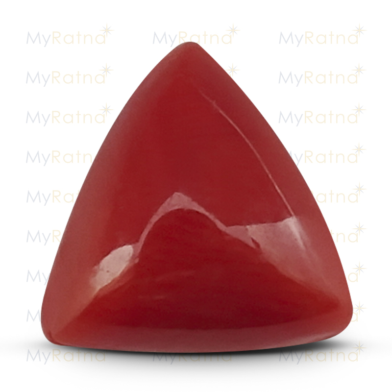 Certified Natural Red Coral 3.49 Ct (Italy) - Limited - MyRatna