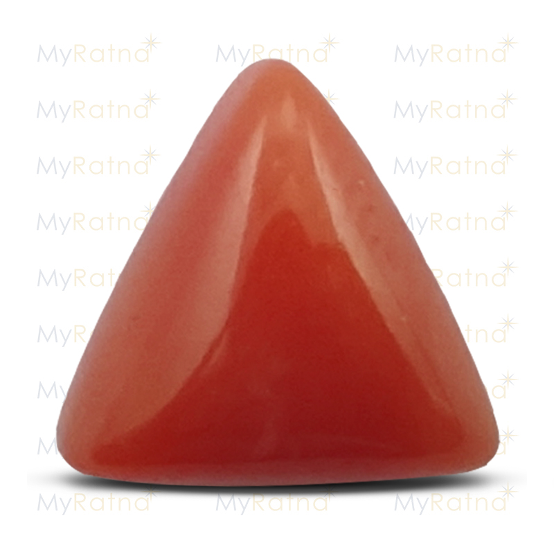 Certified Natural Red Coral 2.72 Ct (Italy) - Limited - MyRatna