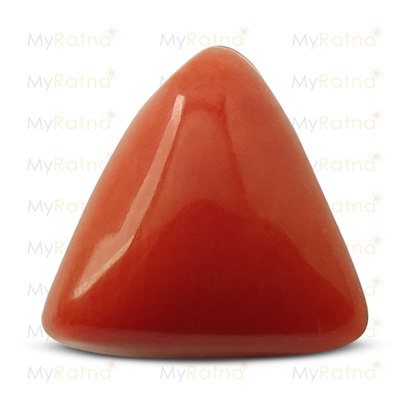 Certified Natural Red Coral 3.11 Ct (Italy) - Limited - MyRatna