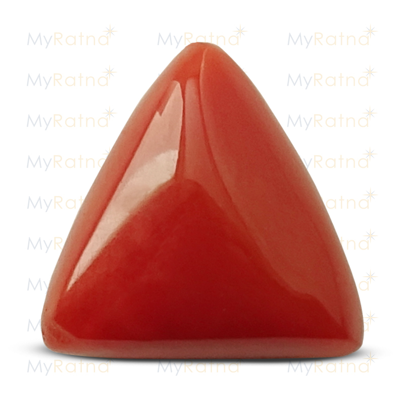 Certified Natural Red Coral 4.41 Ct (Italy) - Prime - MyRatna