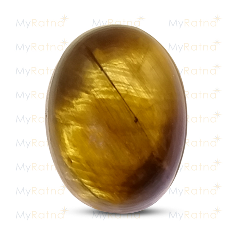 Certified Natural Tigers Eye 6.29 Ct - Prime - MyRatna