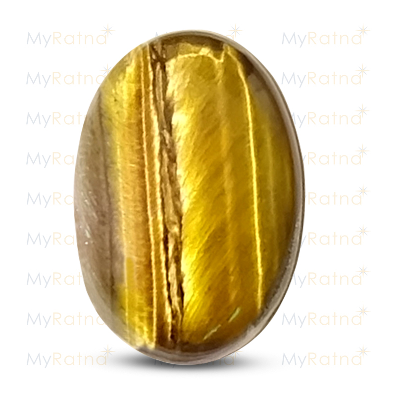 Certified Natural Tigers Eye 5.17 Ct - Prime - MyRatna