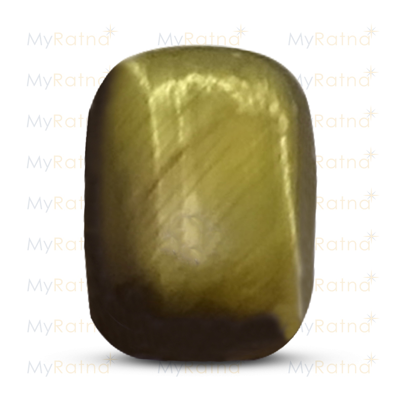Certified Natural Tigers Eye 5.04 Ct - Limited - MyRatna