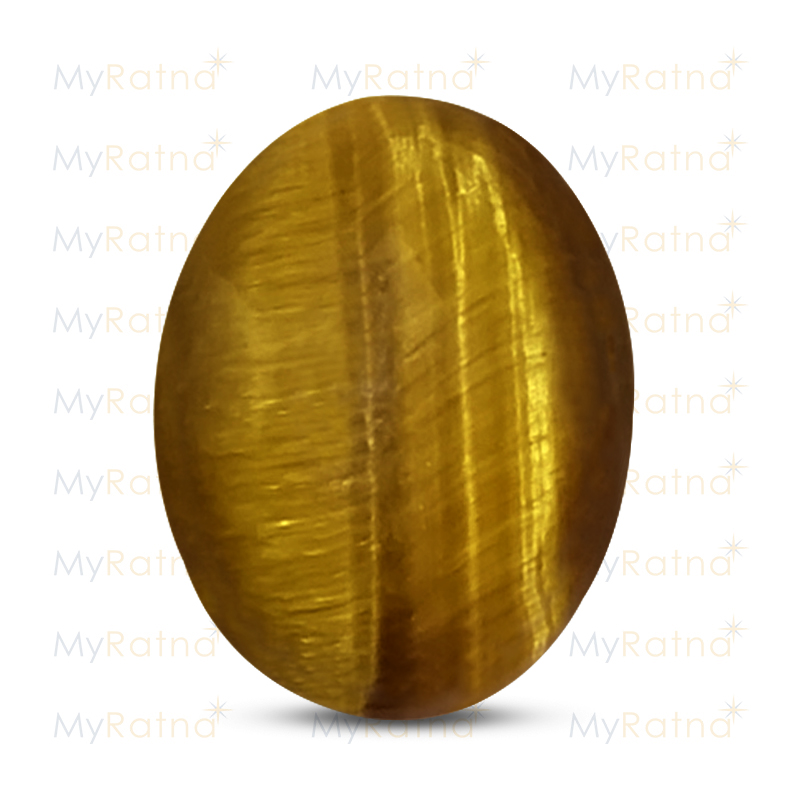 Certified Natural Tigers Eye 4.07 Ct - Prime - MyRatna
