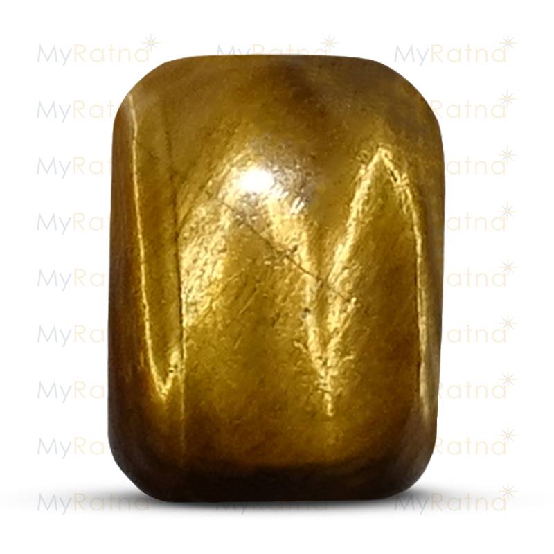 Certified Natural Tigers Eye 3.77 Ct - Limited - MyRatna