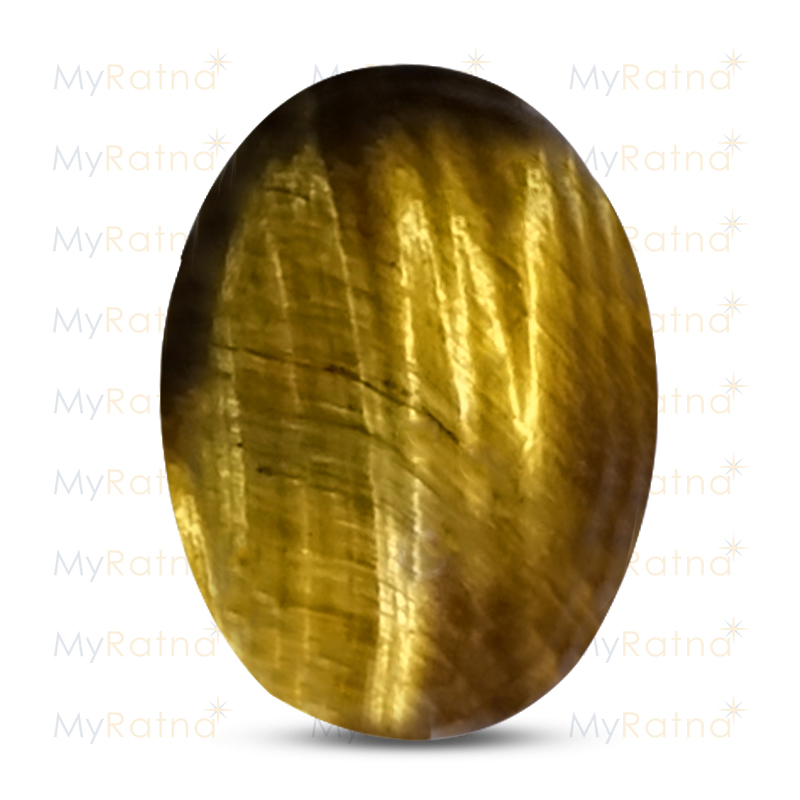 Certified Natural Tigers Eye 6.31 Ct - Prime - MyRatna