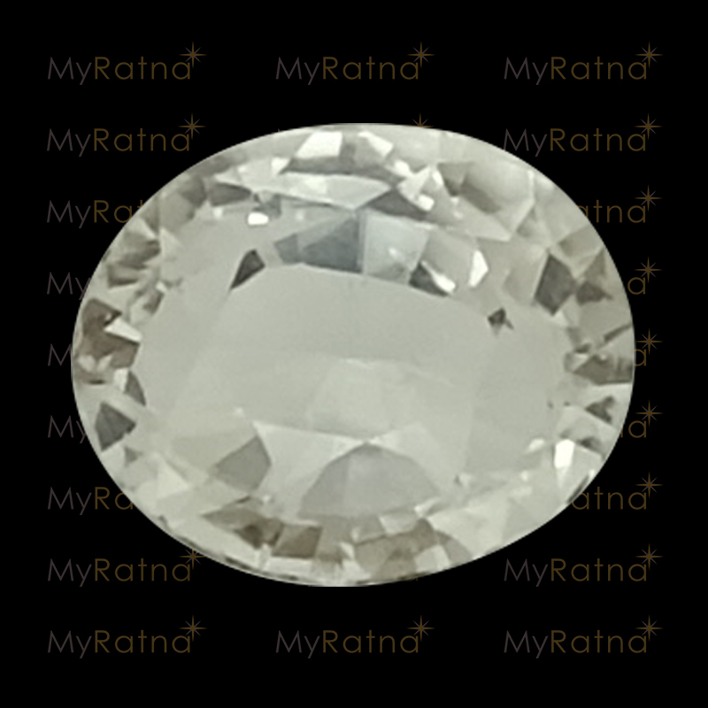 Certified Natural White Topaz 2.78 Ct - Prime - MyRatna