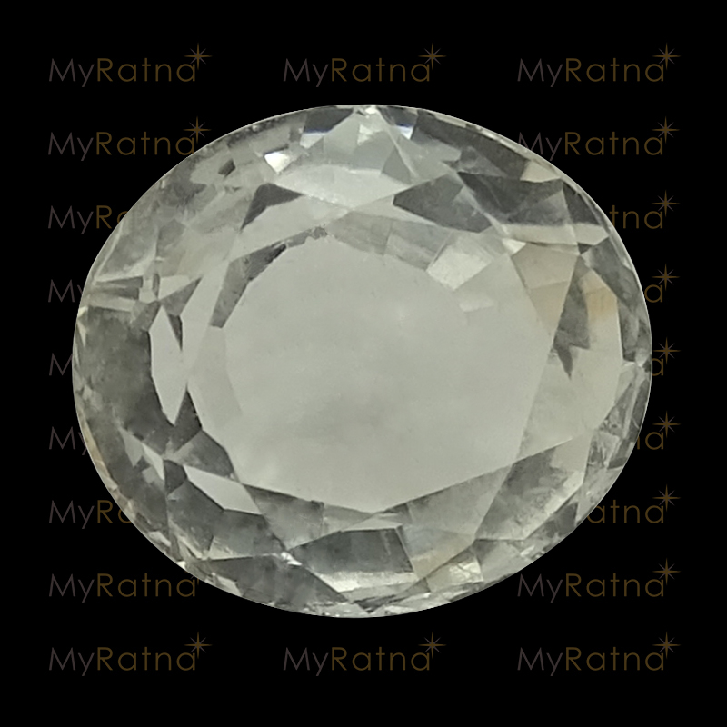 Certified Natural White Topaz 3.03 Ct - Prime - MyRatna